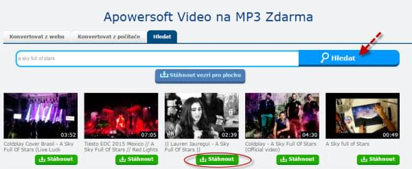 Video na MP3 Zdarma