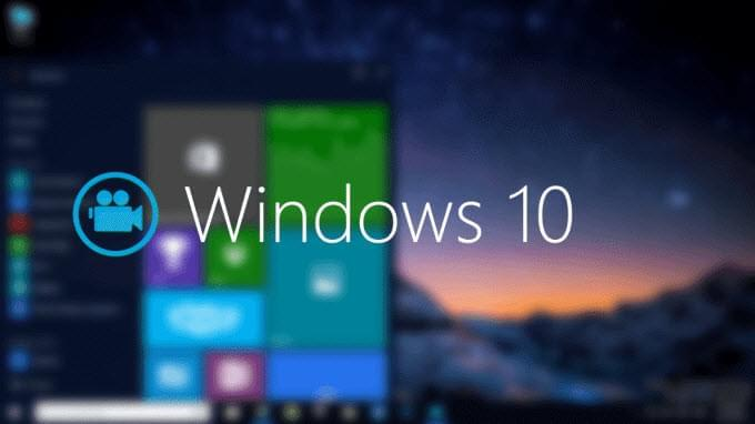 zaznamenávání video Windows 10